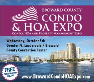 Broward County Condo & HOA Expo, Oct 5, 2016