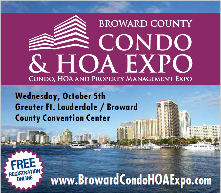 Broward County Condo & HOA Expo, Oct 5, 2016