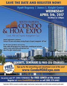 South Florida Condo & HOA Expo April 5 2017