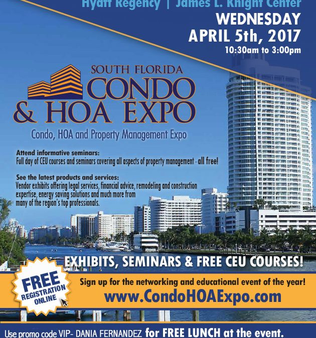 South Florida Condo & HOA Expo April 5 2017