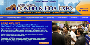 South Florida Condo & HOA Expo October 10 2017