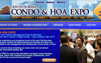 South Florida Condo & HOA Expo October 10 2017