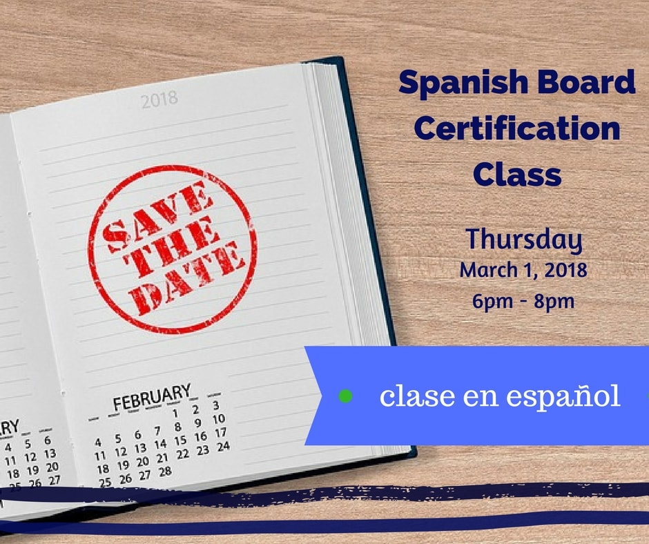 Spanish Board Certification Class - Dania Fernandez, Esq.