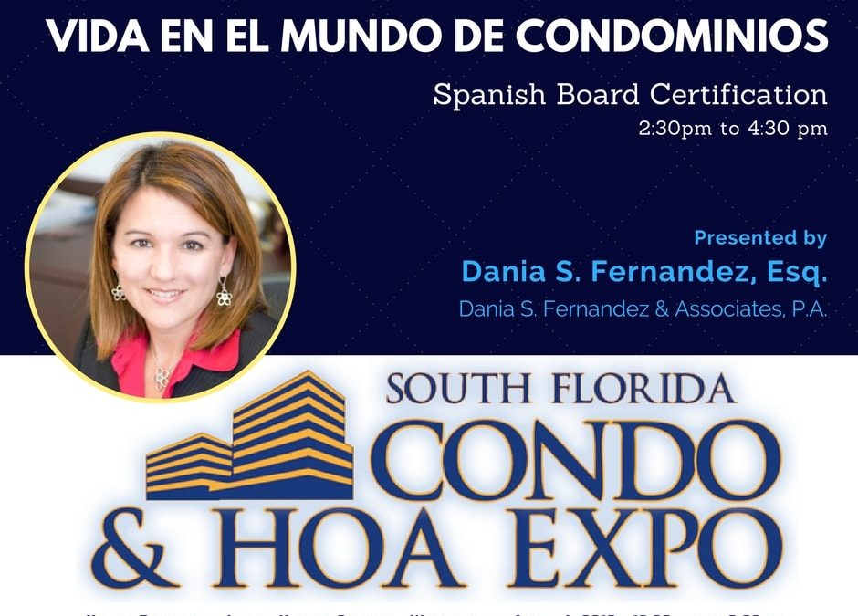 South Florida Condo & HOA Expo April 4 2018