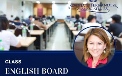 English Board Certification Class • June 7, 2018