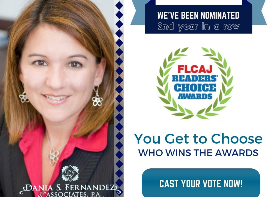 FLCAJ Readers' Choice Awards 2018