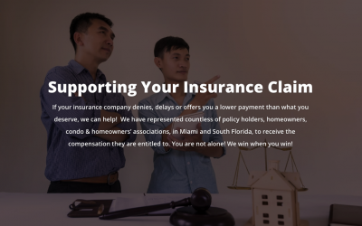 Assisting You with Your Insurance Claims